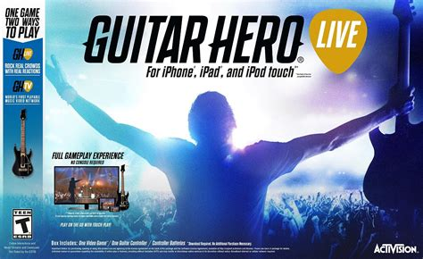 guitar hero live full version cydia guitar hero live for ios and apple tv almost the full