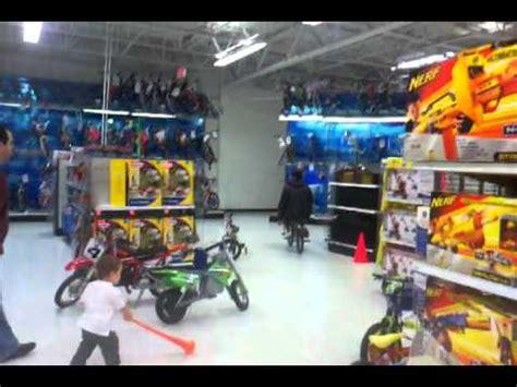 toys r us motocross bikes bike ride through toys r us youtube