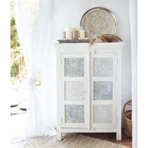 armoire en manguier massif blanche et udaipur