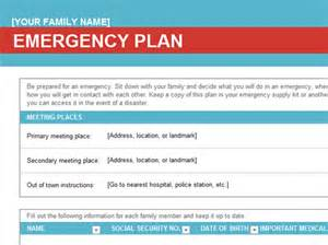 emergency procedures template nz family emergency plan office templates