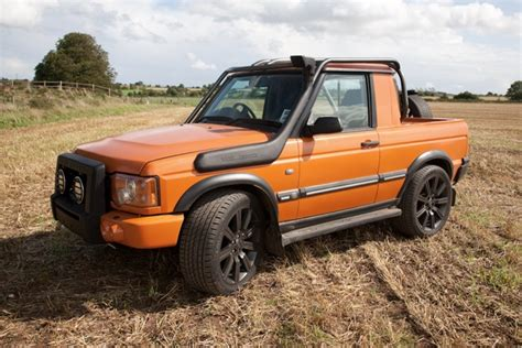 range rover truck conversion discovery 2 pickup conversion offroad 4x4