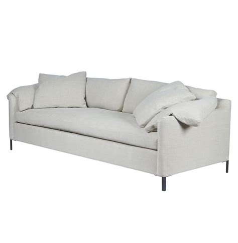 90 inch sofa cisco brothers radley modern classic feather down silver