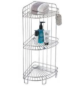 Corner shower caddy stainless steel in shower caddies