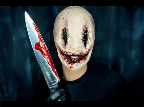 film build up in mouth smiley halloween makeup tutorial horror youtube