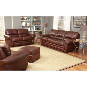 costco living room furniture costco s manchester 4 piece top grain leather set for