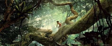 jungle painting the jungle book concept by seth engstrom concept