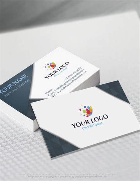 free business card online design and printing card design ideas