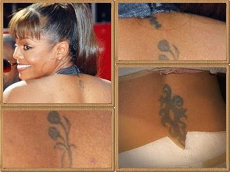 Janet Jackson Really Let Herself Go by Pin Ugliest Tattoos Janet Jackson Has Let Herself Go
