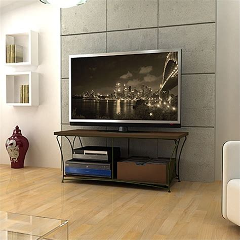 50 inch tv in small room nuvo 2 tier 50 inches tv stand in mocha 88335760
