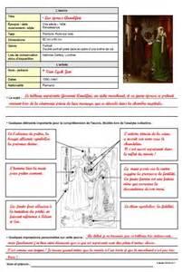 lanalyse du rcit fiches histoire des arts les bons plans de gandalf