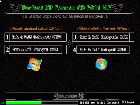 format cd xp perfect xp format cd 2012 v 2 uydudoktoru