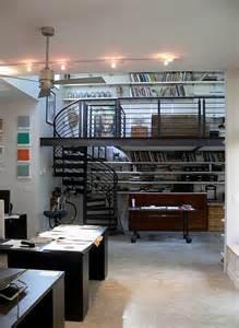 creative studies and studios designs in lofts interior