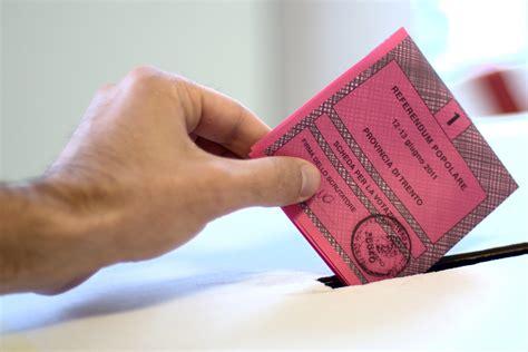 ministero dell interno elezioni e referendum 187 referendum alta l affluenza lecchese crandola da record