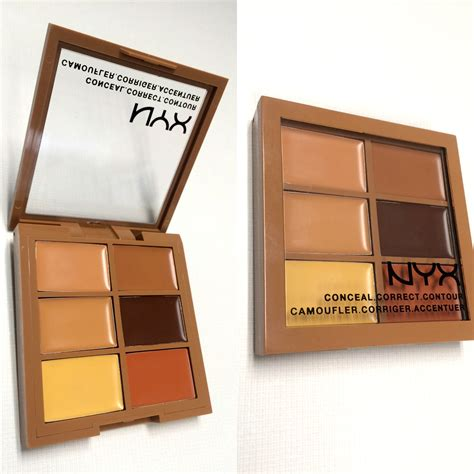 Nyx Corrector Palette crush nyx cosmetics 3c conceal correct contour