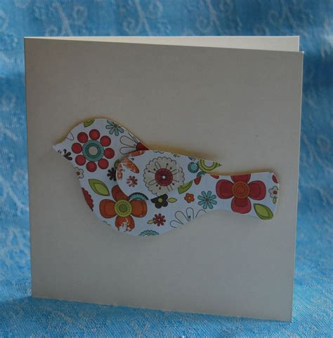 3d Handmade Cards - 3d bird handmade card handmade cards