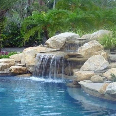 backyard pools with waterfalls best 25 pool waterfall ideas on pinterest lagoon pool