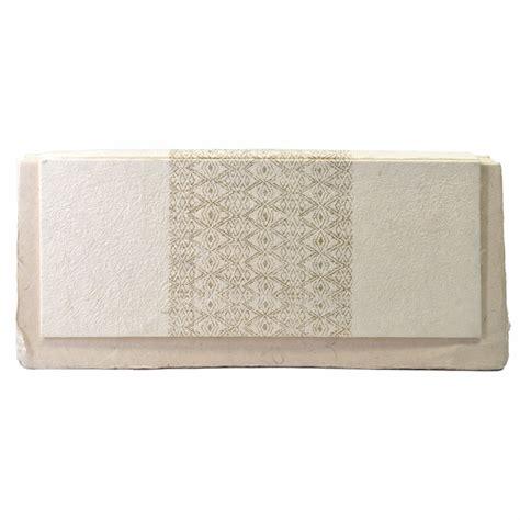 White Handmade Paper - naga handmade paper guest book white