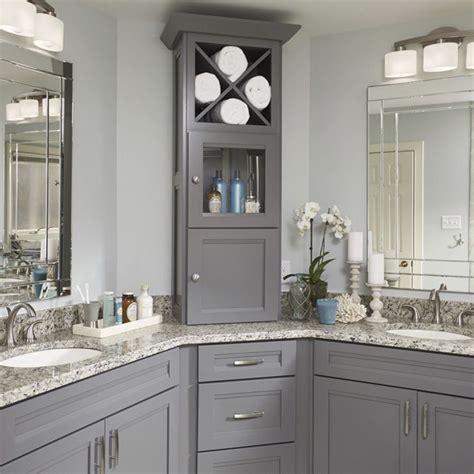 Grey Bathroom Cabinet by Best 25 Grey Bathroom Cabinets Ideas On Gray