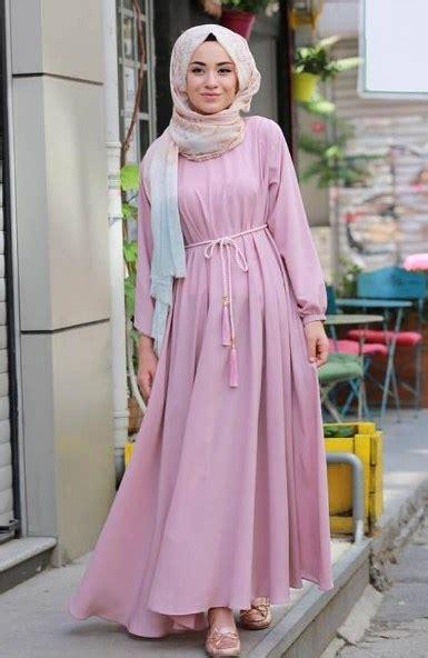Daster Batik Karet Simple 25 model baju muslim ibu yang nyaman di gunakan
