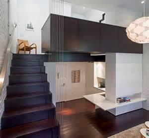 York Home Design Ltd by Micro Condo New York Loft Makes 425 Sq Ft Feel Spacious