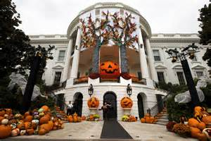 Halloween Decorations For The Home Halloween At The White House