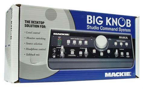 Mackie Big Knob Studio Command System by Mackie Big Knob Studio Command System Kontrol Arabirimi