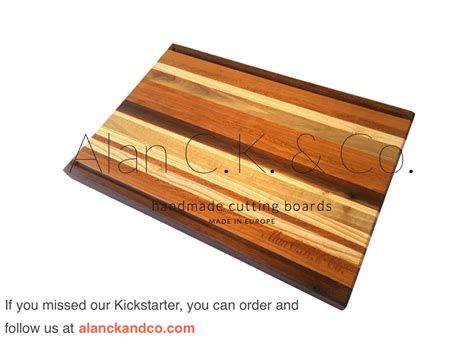 Handmade Wooden Cutting Boards - alan c k co handmade numbered wooden cutting boards