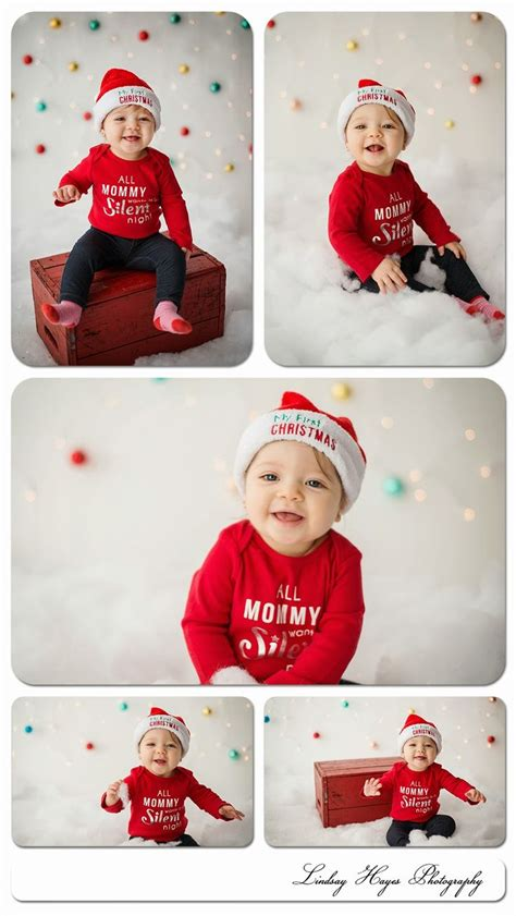 6 month christmas photos 9 month olds photos and backdrops on