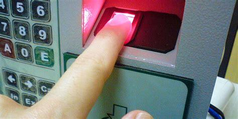 Mesin Absen Telapak Tangan ini dia cara kerja mesin absen fingerprint yang terbaru dari ralali