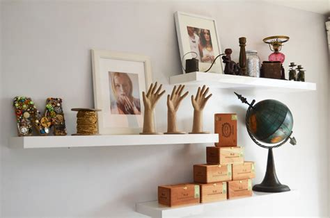 10 Gorgeous Wall Hangings From Ikea by Simple Details Ikea Lack Floating Shelf