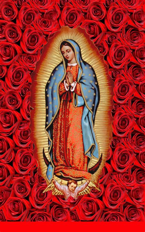 free wallpaper virgen guadalupe iphone background our lady of guadalupe our lady pinterest