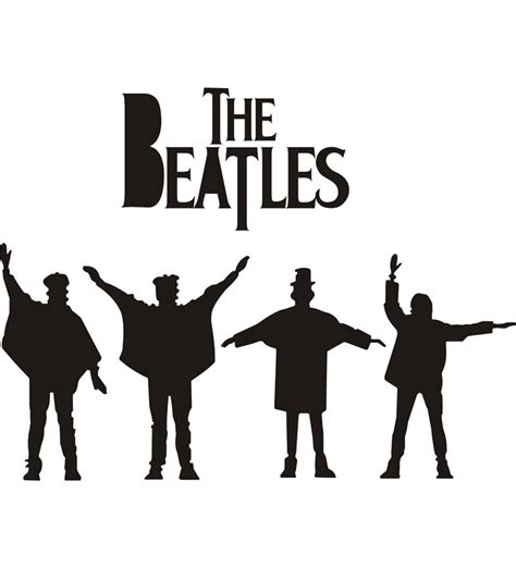 beatles wall stickers wall decor the beatles wall sticker by wall decor