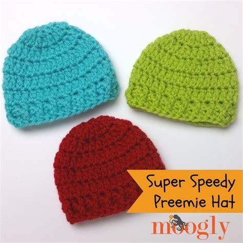 pattern crochet preemie hat super speedy preemie hat moogly