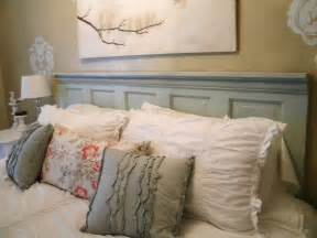 headboards made out of doors repurposed door headboard