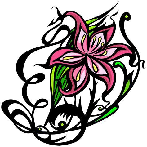 decorative flower onlinelabels clip decorative flowers 2