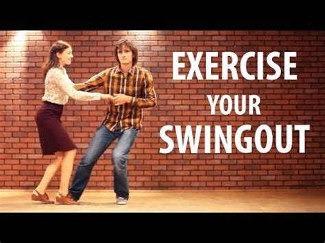 swing out lessons swingout exercises learn swing out lindy hop lesson