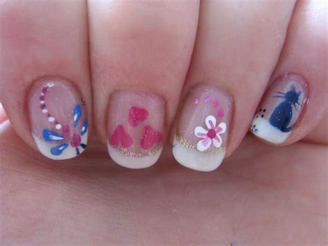 cute pattern nails simple yet cute nail designs that will definitely bring