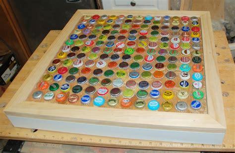 bottle cap table designs 18 diy bottle cap table designs guide patterns