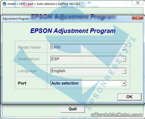 adjustment program or resetter epson tx210 epson adjustment program resetter for sale outside cebu