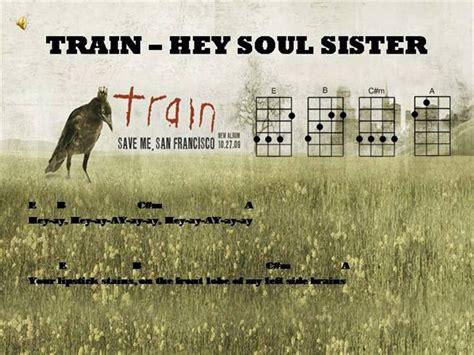 ukulele tutorial for hey soul sister hey soul sister ukulele chords authorstream