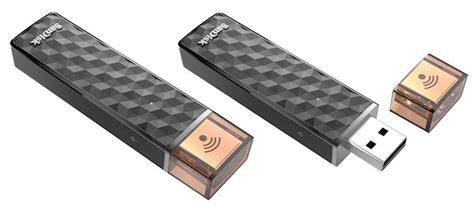 Sandisk Connect 128gb Flashdisk Wireless Stick Wifi Flash Disk Ori sandisk m 225 nov 253 quot mobiln 237 quot flash disk s usb wi fi a