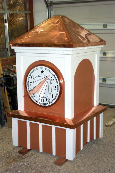 Cupola Construction by Sundial Cupolas Towers And Chimneys