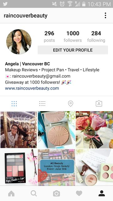 Makeup Giveaway Instagram - 1000 instagram followers giveaway closed raincouver beauty