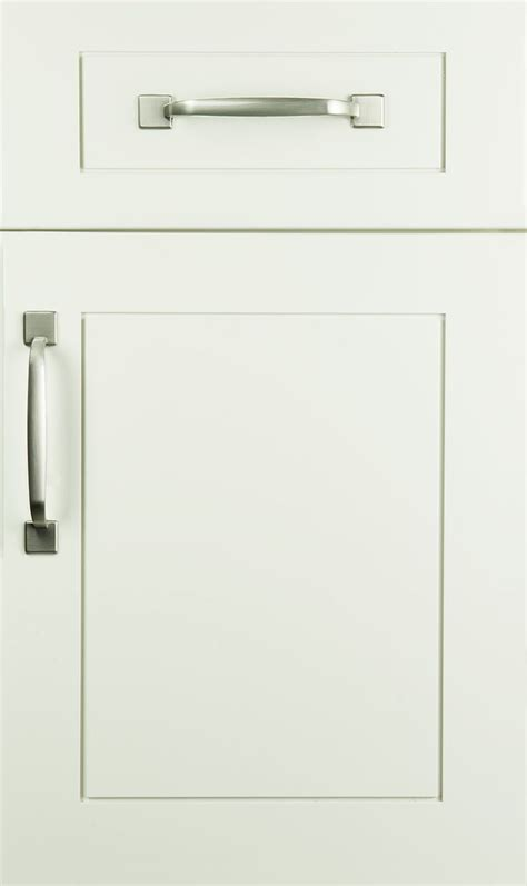 Doors Kitchen Cabinets Transition Door Style On Maple With Butter Cream Finish