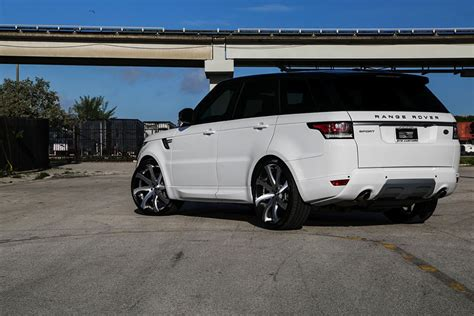 custom 2016 land rover custom range rover sport on forgiato wheels