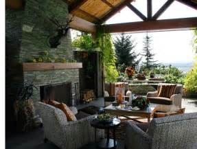 Covered patio ideas casual cottage