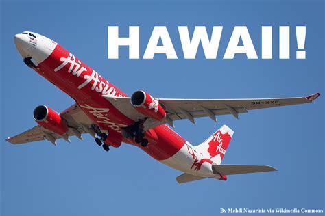 Airasia Ask | airasia x begins flights to hawaii loyaltylobby