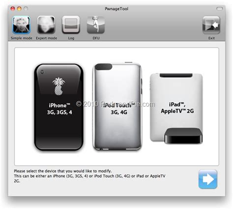 jailbreak iphone ipad ipod touch and apple tv download pwnagetool 4 1 2 to jailbreak ios 4 1 on iphone 4