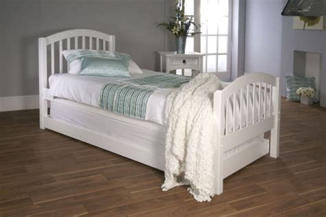 single bed headboards white wood limelight despina 3ft single white wooden bed with guest