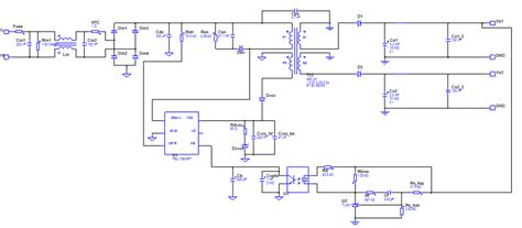 switch mode power supply circuit diagram switch mode power supply circuit diagram with explanation